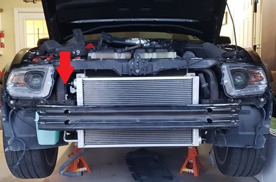 Titanic Triple Heat Exchanger S197 Mustang