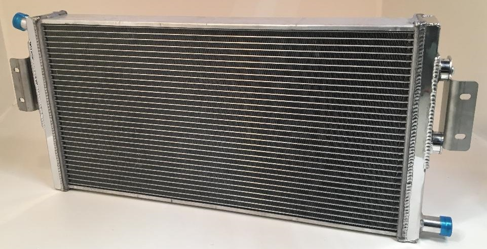 department of boost super single intercooler system upgrade