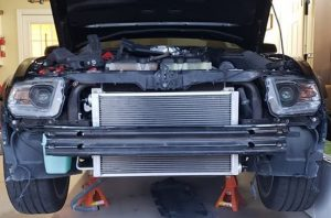 Department Of Boost Titanic Triple 10.5gpm 1000cu in Intercooler System Upgrade Package