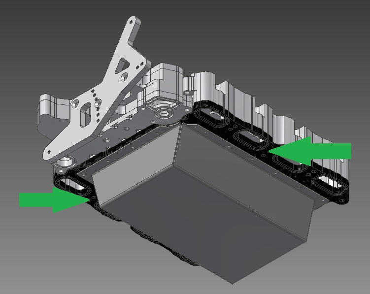 Integrated Composite Heat Barrier For The Intake Manifold