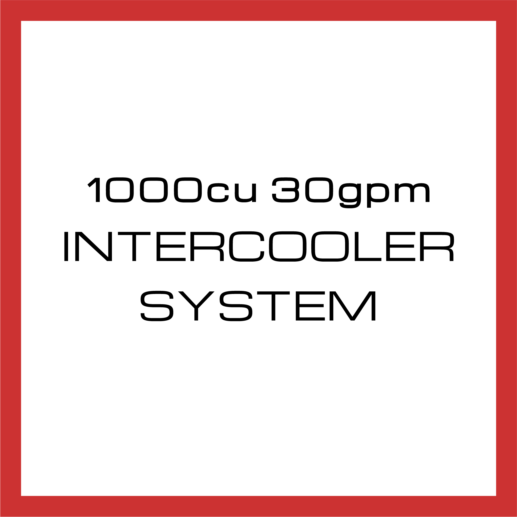 Department Of Boost Titanic Triple 1000cu in 30gpm Intercooler System Upgrade Package