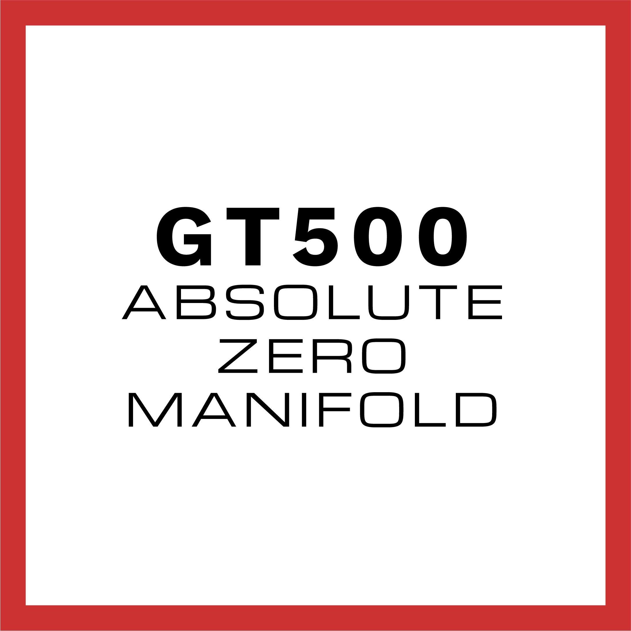 GT500 Absolute Zero Intake Manifold