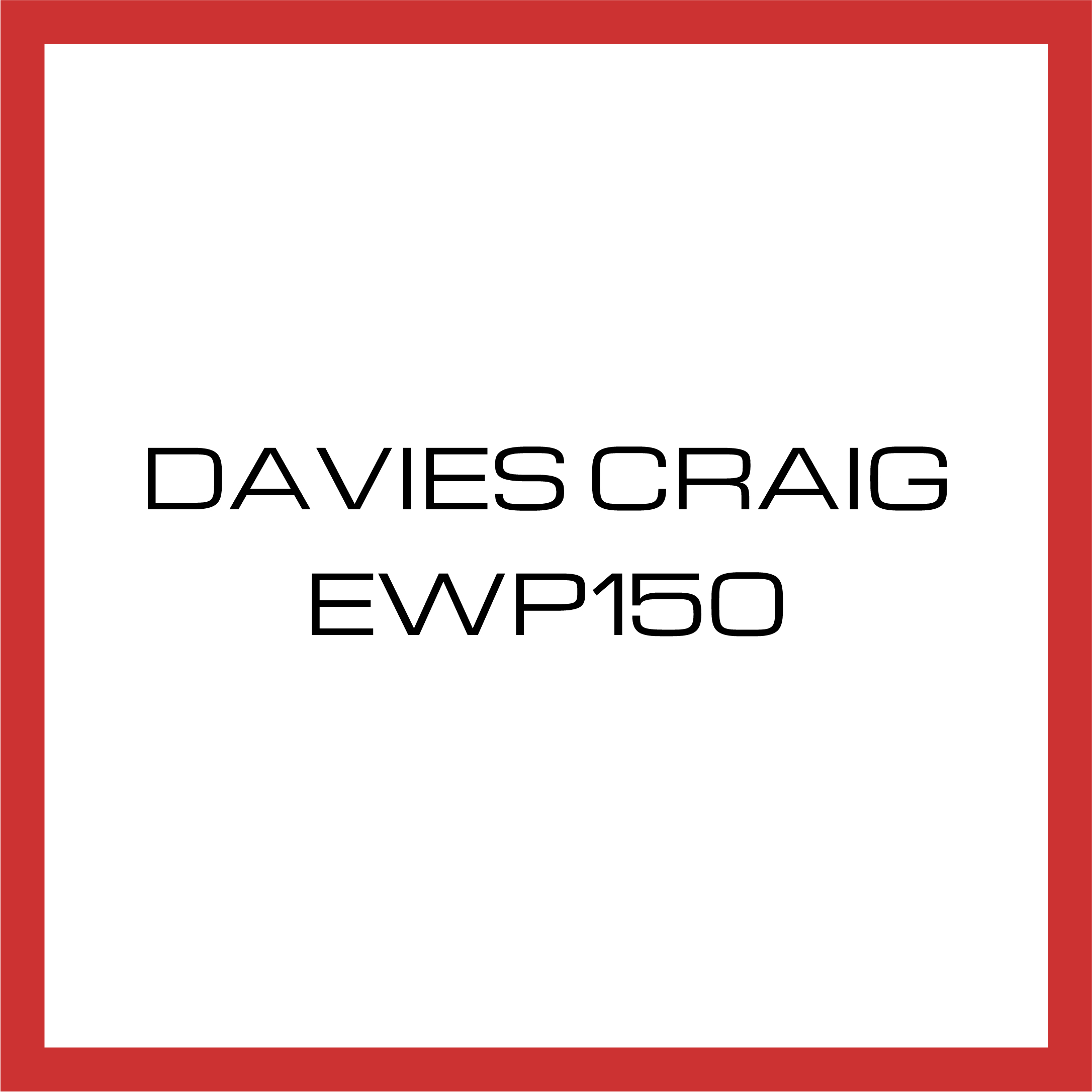 Davies Craig EWP150 Bracket