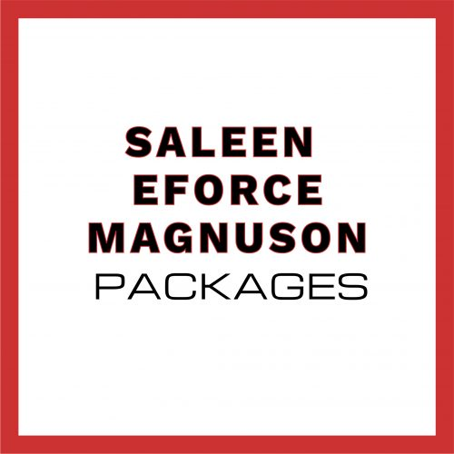 Saleen Magnuson and E Force packages