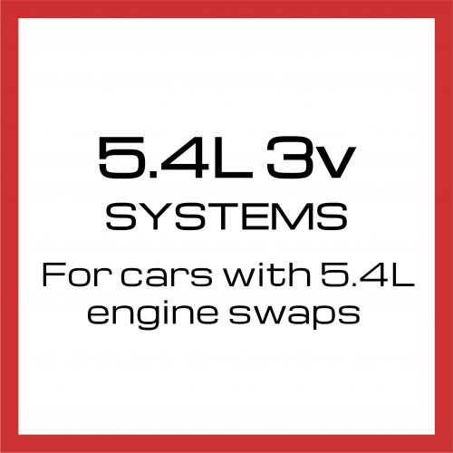 5.4 Liter 3 volt systems - for cars with 5.4 Liter engine swaps